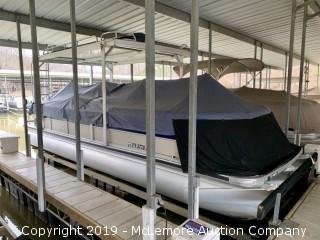 2003 Premier 270 PTX Boundary Waters 27' Pontoon Boat