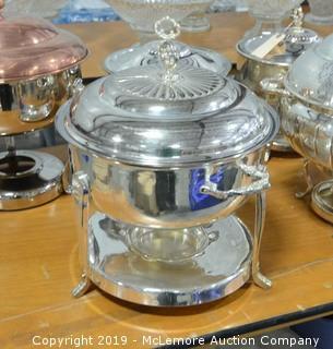 Circular Chafer Dish