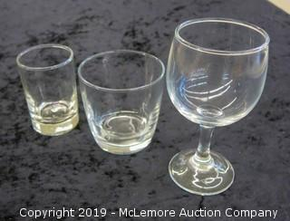 (112 Piece) Assortment of Glasses
