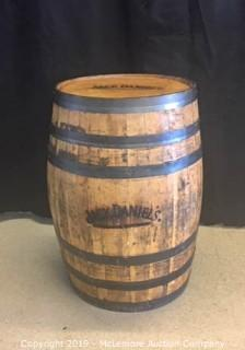 Official Jack Daniels Whiskey Barrel from Lynchburg
