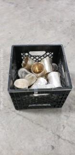 "4"" Silverplate Mint Julip Cups"