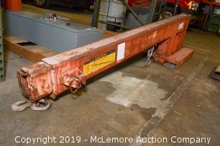 JibRig Forklift Crane Attachment