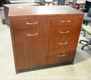 Dresser with 3 Drawers and Side Cabinet
