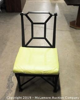 Restoration Hardware Metal Patio Chair with Cushion