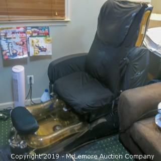 Jetted Pedicure Spa Chair