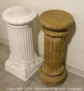 Pair of Pillar Plant Stands (2)