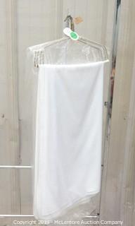 (4) White Table Linen