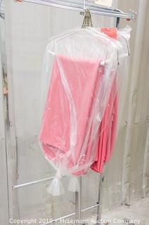 (5) Pink 8' Linen