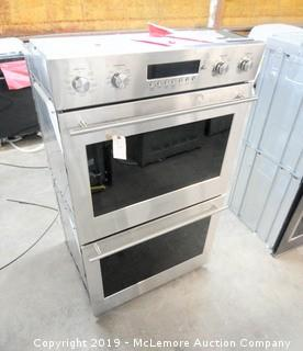 Monogram Stainless Steel Double Oven