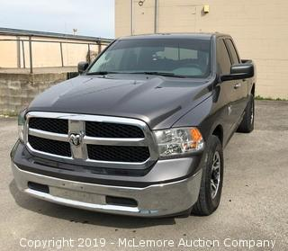 2016 Dodge RAM 1500 SLT Quad Cab with a 3.6L V6 DOHC 24V FFV Engine