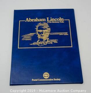 Abraham Lincoln 175 Birthday Folio
