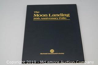 The Moon Landing 20th Anniversary Folio