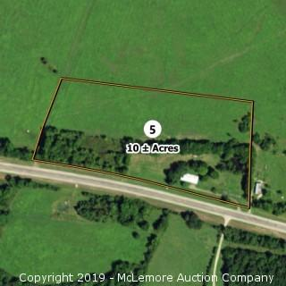 10± Acres and Home