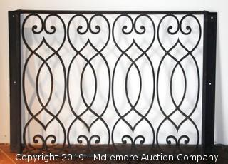 Hand Wrought Balcony Railing