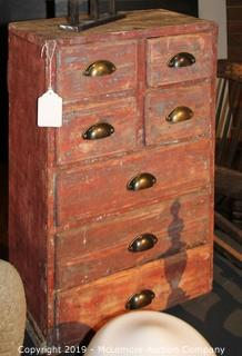 Antique General Store Cabinet