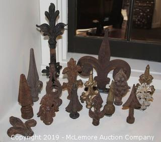 Antique Finial Collection (Set of 16)