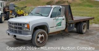 2000 Chevrolet 3500 with Dump Bed