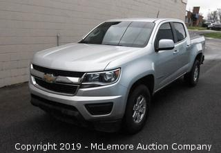 2017 Chevrolet Colorado Crew Cab Pickup Truck with a 3.6L V6 DOHC 24V Gas Engine