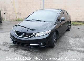 2013 Honda Civic SI Sedan with a 2.0L L4 DOHC 16V Engine with 6 Speed Manual Transmission