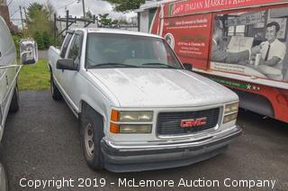 1996 GMC Sierra C/K 1500 with a 5.7L V8 OHV 16V Engine