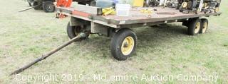 3 Axle 20 Foot Hay Wagon