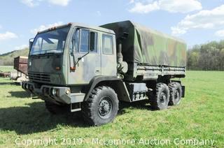 Stewart & Stevenson Military Cargo Truck