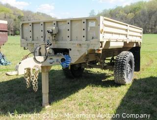 2004 Stewart & Stevenson 2 1/2 Ton M1082 Military Trailer