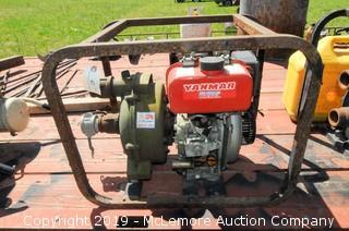 """Yanmar Air Cooled Diesel 2"""" Water Pump Model 2G5 200 GPM"""