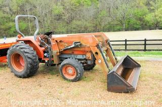 Kubota L3600 Diesel Tractor with 394 Allied Loader