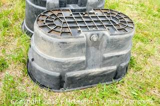 100 Gallon Rubber Maid Water Tank