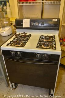 Amana 4-Burner Gas Stove with Oven