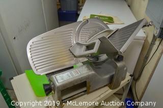 Hobart 512 Slicer with Cart