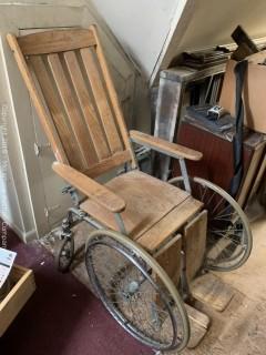 Vintage Wheelchair