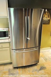 Samsung Stainless French Door 25.5 cu Refrigerator Freezer