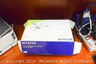 NetGear 16-Port Gigabit Ethernet Switch