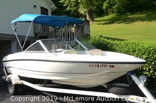 2005 Bayliner Runabout Powerboat with Trailer