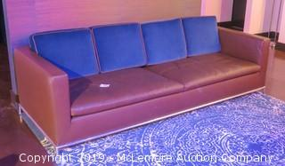 Leather Couch, Made in Italy