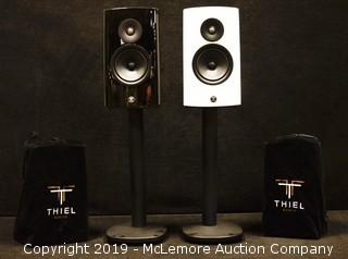 Pair of Mix Match TM3 Speakers by Thiel Audio