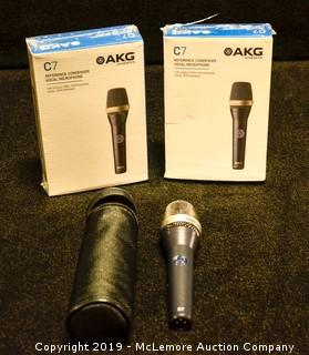 (3) Microphones by AKG