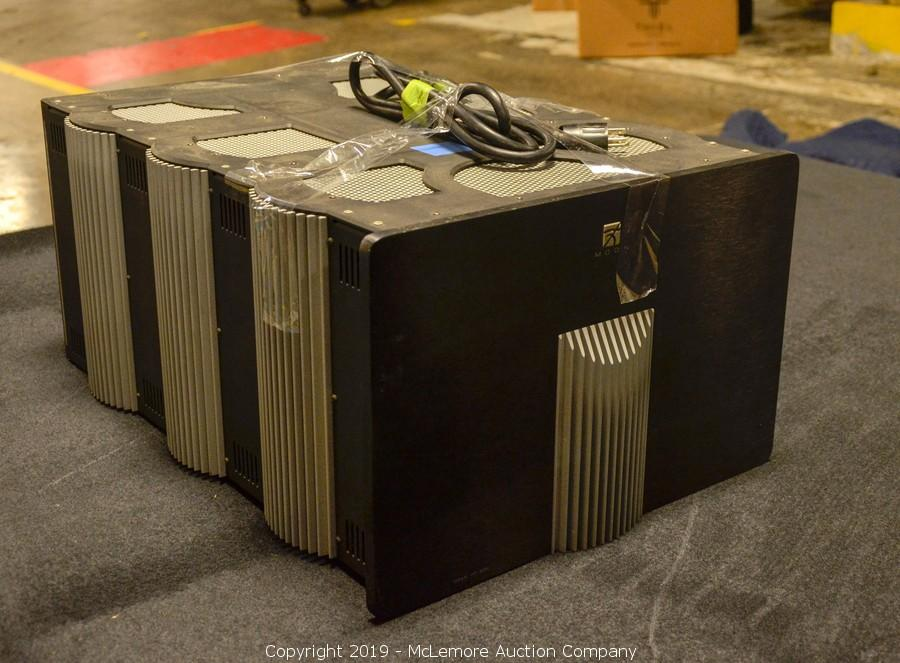 Mclemore Auction Company Auction Complete Liquidation Of Thiel Audio Products Co Llc Including Speakers Audio Equipment Components And Furniture Item Titan Ht200 Amplifier By Moon