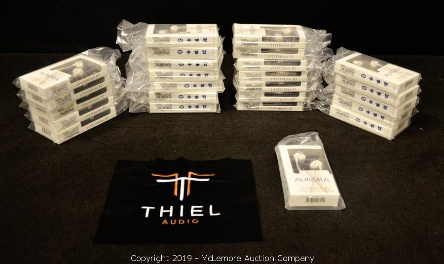 Complete Liquidation of Thiel Audio Products Co., LLC Including Speakers, Audio Equipment, Components and Furniture