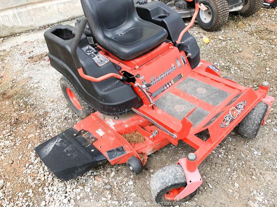 McLemore Auction Company - Auction: Zero Turn Mowers, Lawn Tractors
