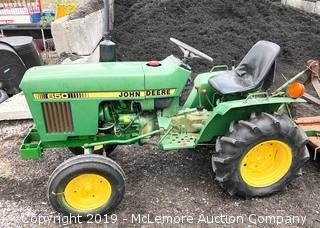 John Deere 650 Diesel Tractor