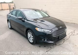 2016 Ford Fusion SE with a 1.5L L4 DOHC 16V Engine