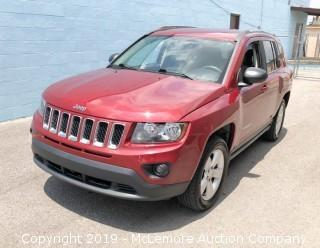 2015 Jeep Compass Sport 4x4 with a 2.4L L4 DOHC 16V Engine