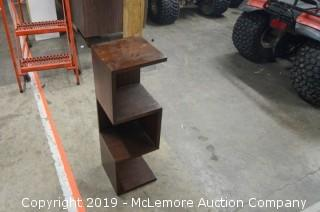 Wooden Shelf Set