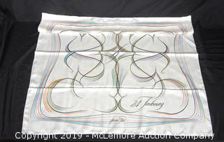 "Hermes ""24 Faubourg"" Silk Scarf"