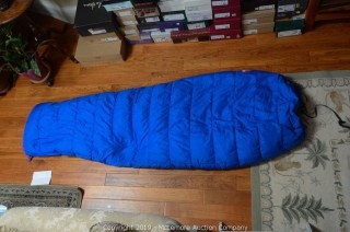 North Face Womens Sleeping Bag with Stuff Sack and Storage Bag