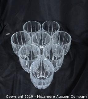 (x8) Waterford Crystal Rocks Glasses