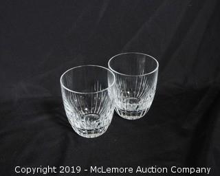 Pair of Waterford Crystal Rocks Glasses